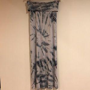 Tie dye skirt by Billabong